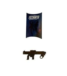 Ciondolo Metallico Per Chiavi City Hunter Private Eyes - Special Limited Edition - Mitraglia
