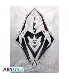 "ASSASSIN'S CREED - METAL PLATE/PLACCA DI METALLO ""ASSASSIN"""