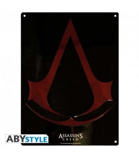 "ASSASSIN'S CREED - METAL PLATE/PLACCA DI METALLO ""CREST"""