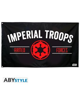 Bandiera Star Wars - Empire Imperial Troops (70X120)