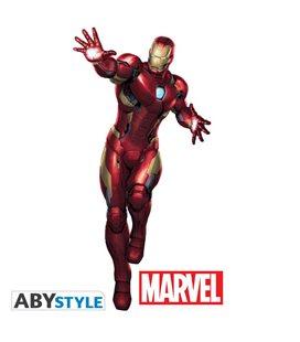 Adesivo Murale - Marvel Ironman Scala 1:1 - 185X85 Cm