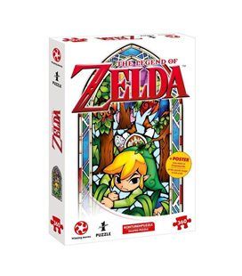 Puzzle The Legend Of Zelda - Nintendo Official - Link Boomerang Version