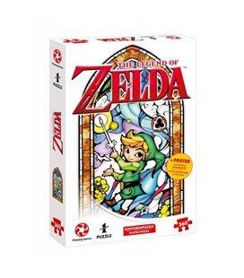 Puzzle The Legend Of Zelda - Nintendo Official - Link The Wind Waker Version