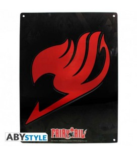 "FAIRY TAIL - MEYAL PLATE/PLACCA DI METALLO ""EMBLEMA"""