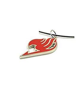 Collanina in Metallo con Ciondolo Rosso Simbolo della Gilda - Pidak Shop