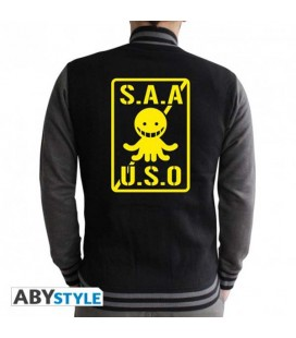 "ASSASSINATION CLASSROOM - JACKET/GIACCA ""S.A.A.U.S.O"" (SIZE-2XL)"