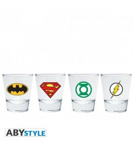 "DC COMICS - SET 2 SHOOTERS ""EMBLEMI"""