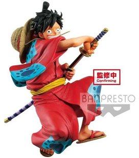 One Piece - Banpresto - Monkey D. Luffy King Of Artist - Action Figure - Pvc - 17 Cm