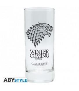"GAME OF THRONES - GLASS/BICCHIERE ""STARK"""