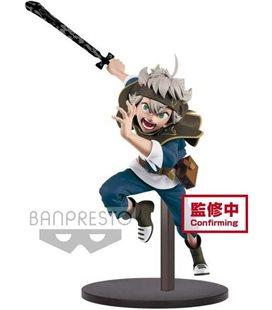 XxxBlack Clover - Banpresto - Action Figure - Dxf - Asta - A - Pvc - 16 Cm - Statuina Da Collezione