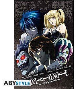 Death Note - Poster - Wallpaper - Abystyle - Ufficiale - Gruppo Di Personaggi- 52 X 38 Cm