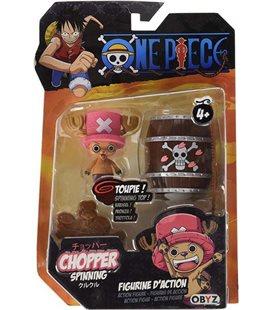 One Piece - Chopper - Obyz - Chopper Spinning Figure - Modellino Che Gira - Giocattolo