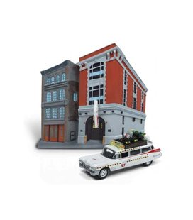 Auto World - Ghostbusters Headquarters - Scale 1:64 - Johnny Lightning