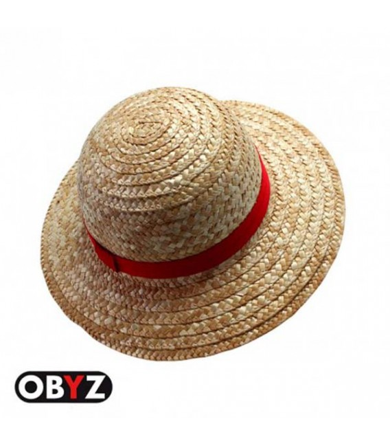 """ONE PIECE - STRAW HAT/CAPPELLO DI PAGLIA """"LUFFY"""" """"ADULT SIZE"""""""