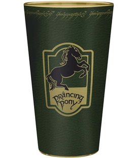 Abystyle - Lord Of The Rings - Signore Degli Anelli - Bicchiere Xxl - 400 Ml - Prancing Pony - Glass - Large Glass - Vetro