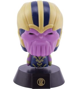 Thanos - Icona - Avengers - - Lampada - Lamp - Light - Led - Usb - Batterie - 11 Cm - Pvc