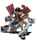 """ONE PIECE - ACTION FIGURE """"STORY AGE MONKEY.D.LUFFY"""""""
