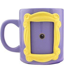 Friends - Central Perk - Frame Shaped Mug - 3D Tazza Cornice Portafoto - Ceramica - 330 Ml - 12 X 16 X 10 Cm