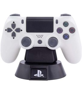 Sony Playstation- Paladone - Lampada - Lamp - Light - Icona - Ps4 Joypad - Led - Usb - Batterie - 11 Cm - Pvc