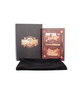 Hbo - Game Of Thrones - Il Trono Di Spade - Seven Kingdoms Journal 17,5 X 14,5 Cm