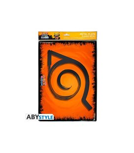 Abystyle - Naruto Shippuden - Metal Plate - Placca Metallica 28 X 38 Cm