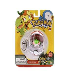 Basic Fun - Pokemon Series 16 - Croagunk Keychain Portachiave