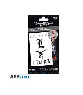Abystyle - Death Note - Tattoos - Set Di Tatuaggi