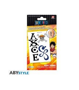 Abystyle - One Piece - Tattoos - Set Di Tatuaggi