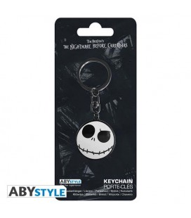 NIGHTMARE BEFORE CHRISTMAS/JACK - KEYCHAIN / PORTACHIAVI - 3,4X4,9 CM