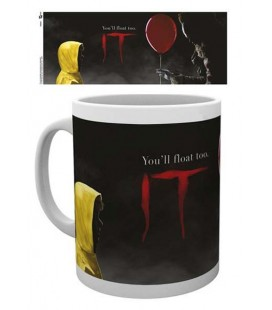 "IT - MUG/TAZZA 300ML ""YOU'LL FLOAT TOO"""