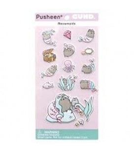 "PUSHEEN THE CAT - GADEGT ""STIKERS/ADESIVI PUSHEEN MERMAID/PUSHEEN SIRENETTAADESIVI""PUSHEEN THE CAT - GADEGT ""STIKERS/ADESIVI PU"
