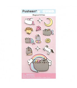 PUSHEEN THE CAT - GADGET STICKERS ADESIVI MAGIC CATS GATTI MAGICI