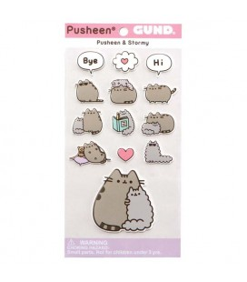 PUSHEEN THE CAT - GADGET STICKERS ADESIVI PUSHEEN E STORMY
