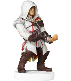 20 Cm Assassin'S Creed Ezio - Gadget - Charger Caricatore Telefono Phone And Controller Xbox Playstation