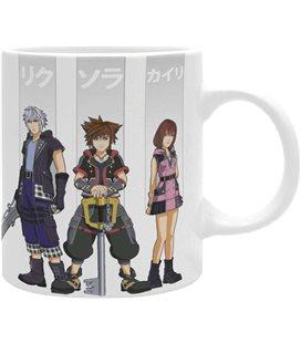 Tazza 320 Ml - Disney - Kingdom Hearts - Eroi - Sora - Kairi - Abystyle