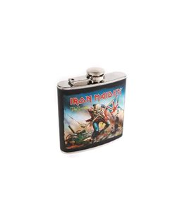 Iron Maiden Flask The Trooper Fiaschetta Acciaio 9 X 2.5 X 11 Cm - 0,18 Lt