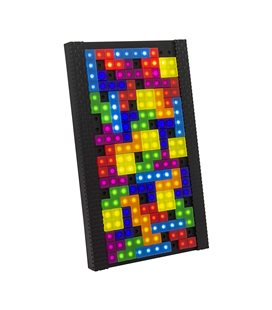 Paladone - Tetris Tetrimino Light - Lampada - 53 Pcs - Componibile - 21 Cm
