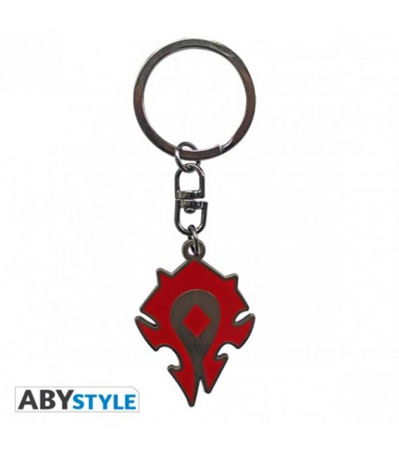 "WORLD OF WARCRAFT - KEYRING/PORTACHIAVI ""LOGO WORLD OF WARCRAFT"""