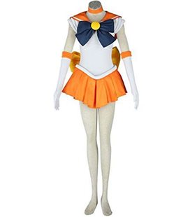 Cosplay della Marinaretta/Sailor Arancione e Blu - Pidak Shop