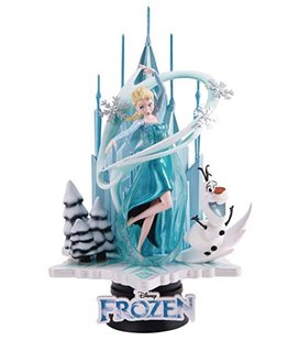 Frozen - Diorama Frozen & Olaf