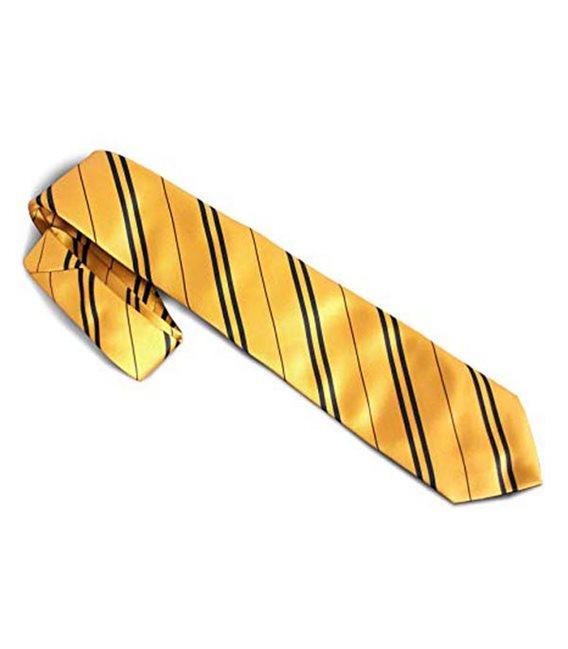 Cravatta Gialla Della Scuola Dei Maghi - Pidak Shop