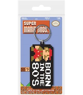 Portachiavi Super Mario Bros: Born In The 80'S