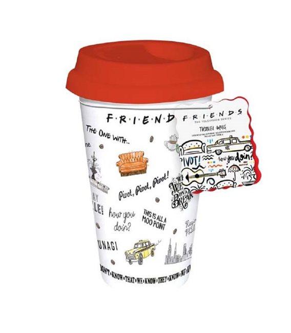 Friends- Travel Mug/Tazza Da Viaggio Friends