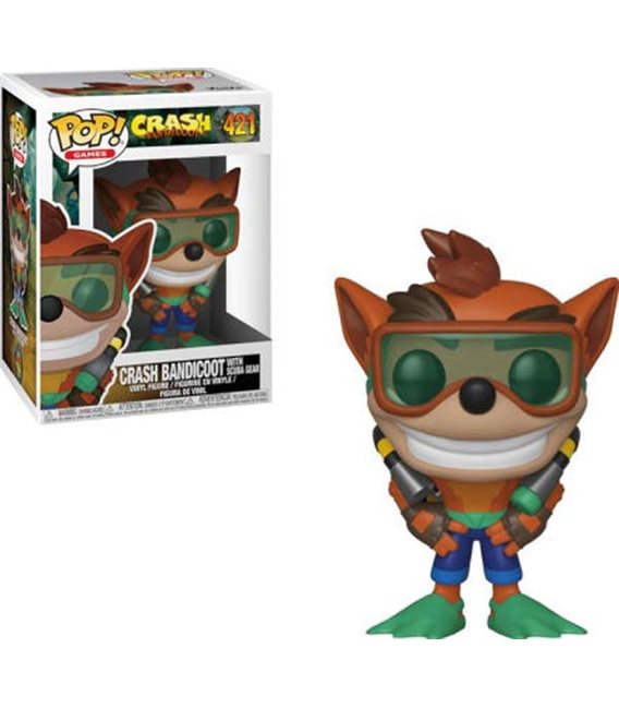 XxxCrash Bandicoot - Pop! Crash Scuba