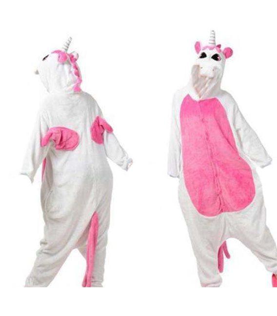 Pigiama/Costume Unicorno Rosa Size Xl