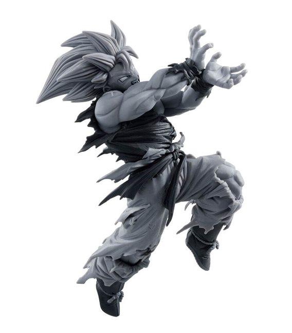 Dragon Ball - Action Figure Goku Super Saiyan Kamehameha Pose Special Color Version