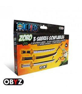 One Piece - Set Spade Gonfiabili/Inflatable Sword Zoro