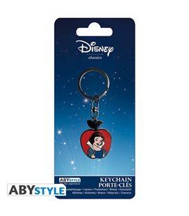 Biancaneve - Disney - Snow White - Keychain Portachiavi - Metallo - Abtstyle