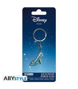 Portachiavi Scarpetta Di Cenerentola - Disney - 3,4 X 4,9 Cm - Abystyle