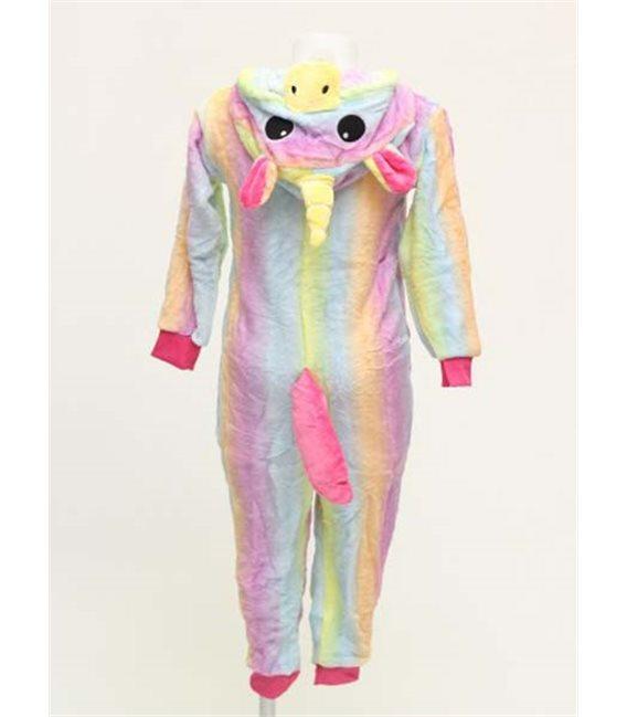 Pigiama/Costume Unicorno Arcobaleno Size Xl